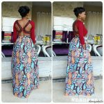 45 Latest Ankara Skirts Styles 2017