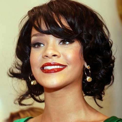 Rihanna Bob Cut For Season 2016 – 2017