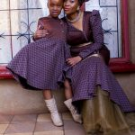 Shweshwe Traditional Dresses for Bridesmaids 2016 2017