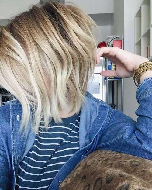 Short Blonde Hairstyles 2016 2017