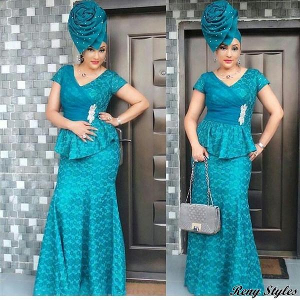 The Perfect Aso Ebi Dress