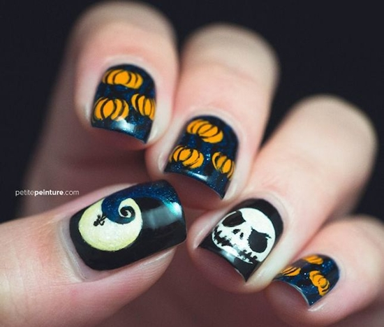 Newest Nail Art for Spooky Halloween 2017