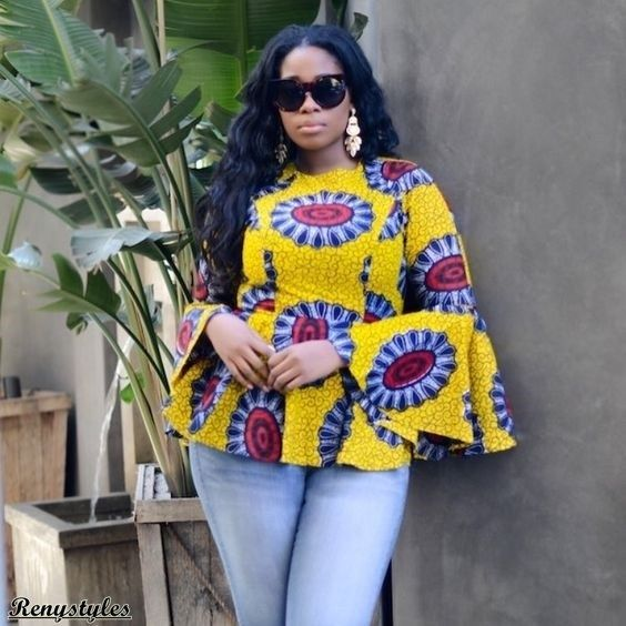 Ways to Rock Your Ankara Tops For Women