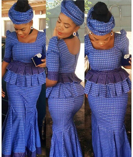 Check out Shweshwe Styles This Weekend