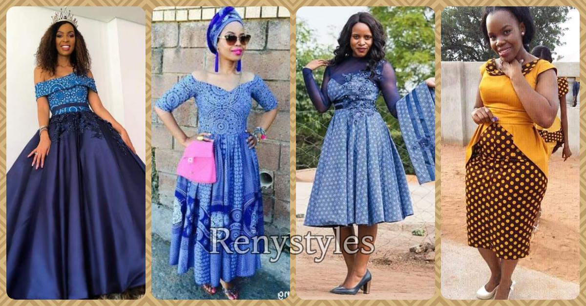 African Shweshwe Ghana Fashion Designers Reny Styles
