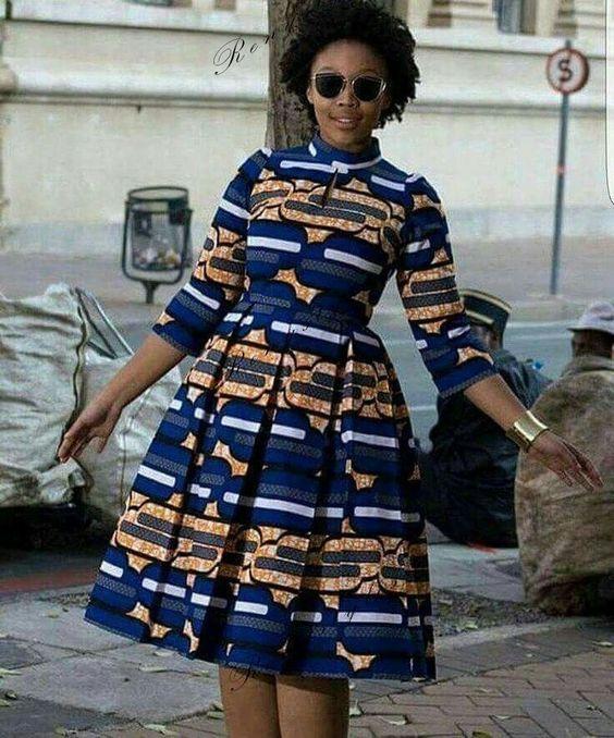 Top 20 Kitenge Fashion Short Dresses Reny Styles