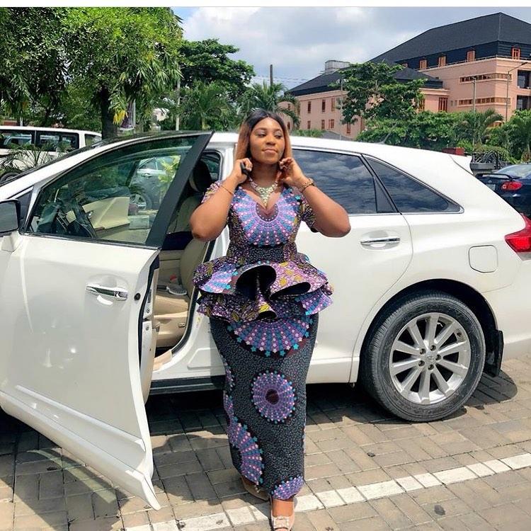 Sizzling Nigerian Ankara Styles 2019