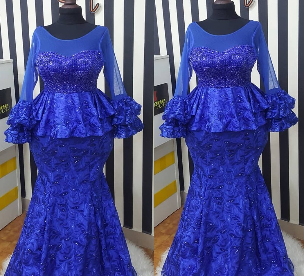 Top Lace Skirt And Blouse Styles For Your Next Owambe   Reny styles